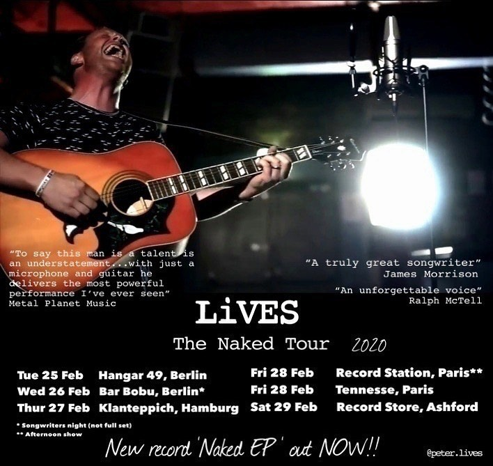 LiVES - Naked Tour